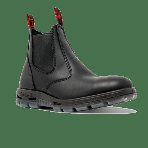 Redback USBBK Steel CAP Boots Black Oil Kip