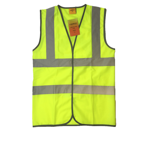 N Safety Vest X Back in Yellow